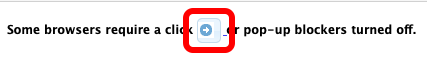 A red box highlights the additional button that might need to be clicked to access EAC Visual Data in some browsers